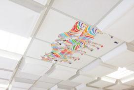 Pièges à sons au plafond